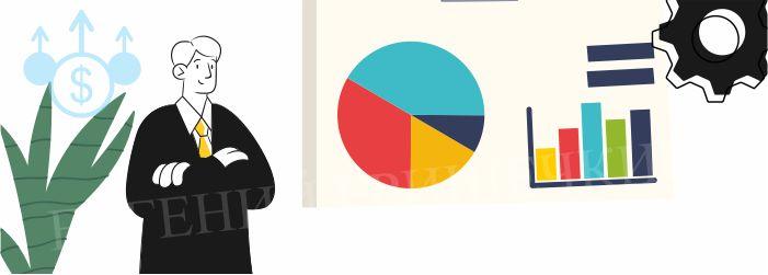 Динамика в аналитике цифр в продажах.