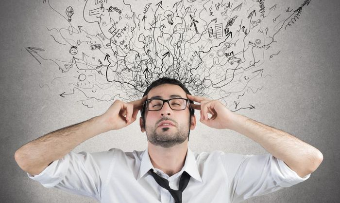 Состояние нервного напряжения возникающее во время работы.