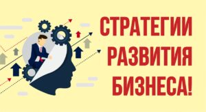 Бизнес стратегия. Стратегии развития бизнеса!