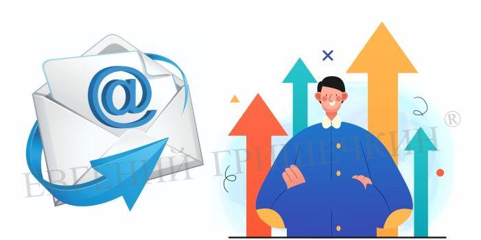 Запуск тренинга с рекламными письмами для клиентов.