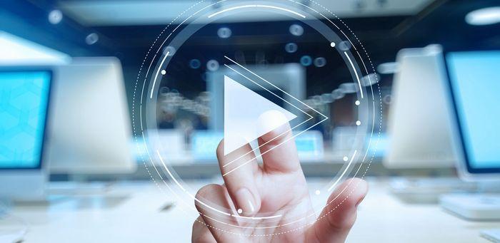 Рекламное видео для усиления рекламного текста.